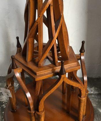 schaalmodel houten toren