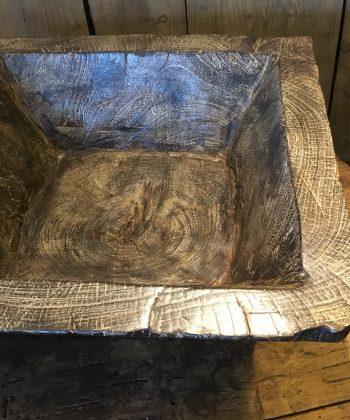 grote houten bak