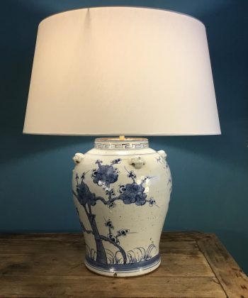 lamp grote chinese pot